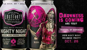 Festival of Darkness: Nighty Night 2019 Release Party