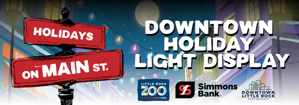 Downtown Little Rock Partnership, Little Rock Zoo present Holidays on Main: A downtown holiday winter wonderland