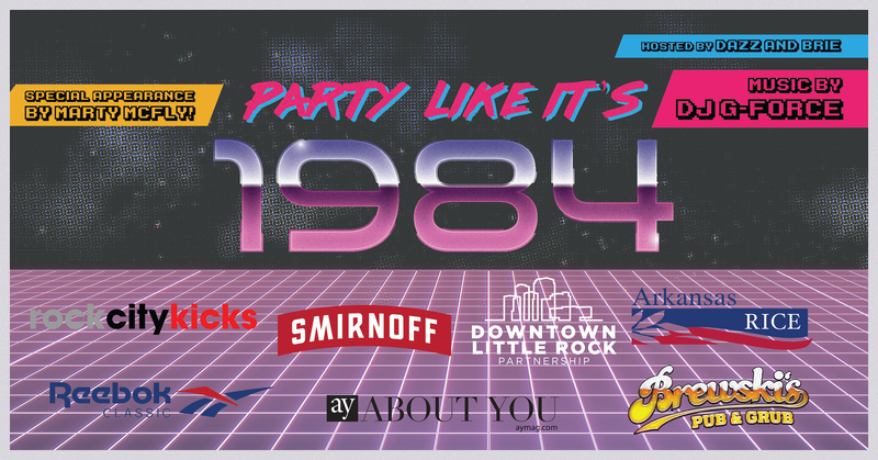 80s Mall Party Horizontal Image