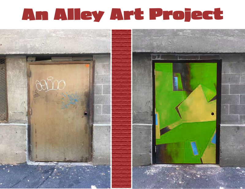 An Alley Art Project revised promo image