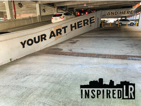 Inspired lr graphic for call to artists - Baker's Alley